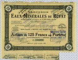Eaux Minérales De Royat Dpt 63 - Eau