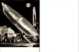 Photokunst Karusell Bei Mondschein - Other
