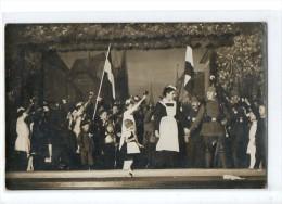 M766 Théatre D'Enfants Patriotique Carte Photo - Guerre 1914-18