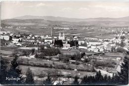 """KOCEVJE (Slowenien), Fotokarte Gel.195?, 2 Fach Frankiert, Nachporto """"T"""" Stempel - Slovenia"""