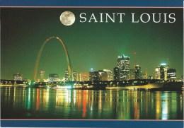 SAINT-LOUIS - La Ville Vue La Nuit - St Louis – Missouri