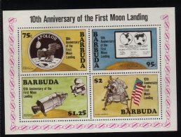 Antigua & Barbuda, 1979, Space, Apollo - Antigua Et Barbuda (1981-...)