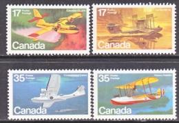 Canada  843-6       **    AERO  SEA  PLANES - Unused Stamps