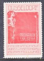 Germany  DUSSELDORF  EXPO.  1904     *  GARDEN   EXPO. - Germany