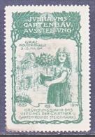 Germany   1914     *   GRAZ  GARDEN    EXPO. - Germany