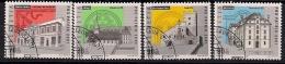 """2001 Schweiz Mi. 1753-6 FD-used  Pro Patria"""": Denkmäler Der Schweizer Kulturgeschichte - Used Stamps"""