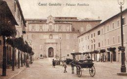 [DC6678] CASTEL GANDOLFO (ROMA) - PALAZZO PONTIFICIO - Viaggiata - Old Postcard - Italia