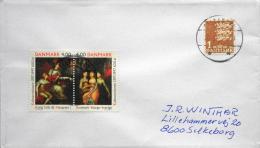 Denmark 2003 Letter 26-2-2003 SILKEBORG ( Lot 2391 ) - Lettres & Documents