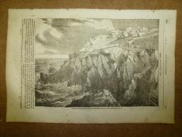 7 Août 1834 MAGASIN UNIVERSEL: Mine De Botallack (Cornouailles);Les Révoltés Du Bounty (l´histoire Et Gravures); Bayeux - 1800 - 1849