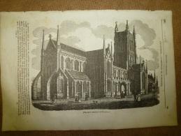 14 Août 1834 MAGASIN UNIVERSEL: Cath. WORCESTER; Histoire De La Vigne; St LOUIS; La Mer, Sel Et Plantes;Edmond SPENCER - Kranten