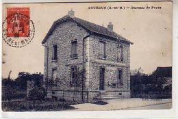77 SOURDUN ( S Et M ) - Bureau De Poste - Maison En Meulière - POSTES TELEGRAPHES TELEPHONES - édition Meignen - France
