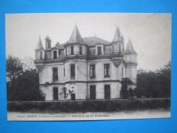17 : JONZAC : CHATEAU De La FREMIGERE  ,C.P.A.: Carte En Trés Bon état  , - Castelli