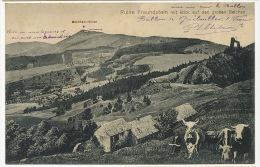Ruine Freundstein Mit Blick Auf Den Grossen Belchen  Edit Kuntz Soultz Gebweiler Paturage - Other Municipalities