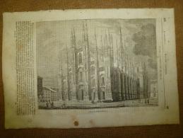 4 Sept. 1834 MAGASIN UNIVERSEL: Cathédrale De MILAN; Les Astrologues; La Bécasse; Pierre Mignard; Les Kurdes - Kranten