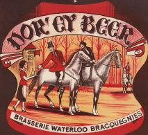 Carton Biere Brasserie Waterloo Bracquegnies - Affiches