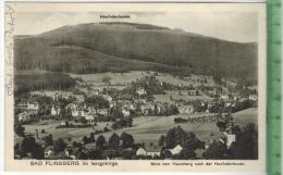Bad Flinsberg 1926 Verlag: Niepel, Friedeberg., Postkarte Ohne Frankatur  Und Stempel, BAD FLINSBERG 12.6. 1926 MIT BEFÖ - Schlesien