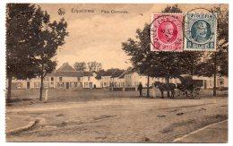 CP, BELGIQUE, HAINAUT, ERQUELINNES, Voyagé En 1924 - Erquelinnes