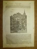 11 Sept. 1834 MAGASIN UNIVERSEL: Metz; Origine Voiture;Peintre Salvator Rosa D´Arenella; Lanciers;Docteur Francia; BOA - Zeitungen