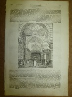 25 Sept 1834 MAGASIN UNIVERSEL: Mosquée D´ ALGER; Indiens TÊTES-PLATES; Pierre-le-Grand; Les Croisades ;Brigands Arabes - Kranten