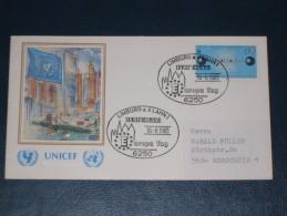 Karte Germany Bund Sonderstempel 1983 6250 Limburg An Der Lahn UNICEF Europa Tag Lymburga ´83 - Affrancature Meccaniche Rosse (EMA)