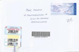 Israel 2010 Bat Yam Post Office Meter Franking Barcoded Registered Cover - Israël