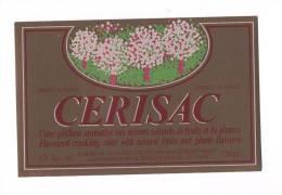 Etiquette De Cidre  -  Cérisac  -  Ets Guillet Frères à Guenrouët  (44) - Labels