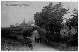 Plougasnou Finistère Petit Chemin Creux 1914 Très Bon état - Plougasnou