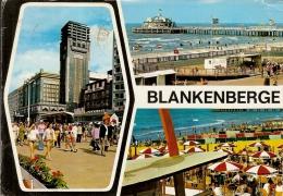 BLANKENBERGE- MULTIVUES-KURSAAL-HOTEL EDEN-PIER-VELODROME - Blankenberge