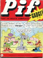 Pif Gadget N°155 (Vaillant 1393) - Aventures De Fanfan La Tulipe Et Dr Justice - Pif Gadget