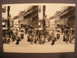 CPA Paris (75) - Stereoscopique - Paris Instantané - Rue Du Faubourg Montmartre - France