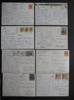 ITALY        8 POSTAIS  - 2 Scans  -    (Nº04355) - Cartoline