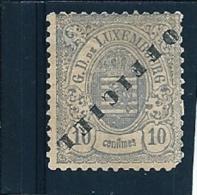 LUXEMBURG-Luxembourg : SERVICE - OFFICIEL : N°28 B (*). - 1878- Cote : 150,00€ - Servizio