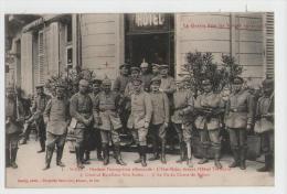 CPA  SAINT-DIE - L'Etat Major Devant L'Hôtel Terminus-Général Von Soden+le Fils Du Comte De Bulow - 1914-18