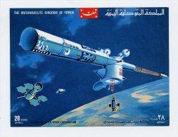Yemen, Jemen, 1969, Space (bloc 176) - Yemen
