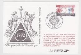 1792 - AN 1 DE LA REPUBLIQUE - 1992 - Documents De La Poste