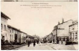 La Neuville Au Pont - Route De Moiremont Et De Vienne - La Ville Avant Les Bombardements - France