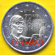 Frankrijk - France - 2 Euro 2010 Comm.(De Gaulle) - France