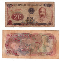 2 Billets - Viêt Nam - Vietnam