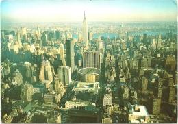 Nº1351 AERIAL VIEW OF MIDTOWN MANHATTAN SKYLINE FACING EAST - Manhattan
