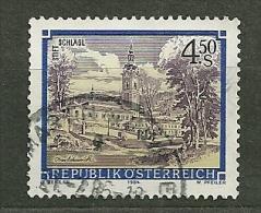 """Autriche Oblitéré ; Y & T N° 1607 ; """" Abbayes Et Monastères"""". - 1945-.... 2ème République"""