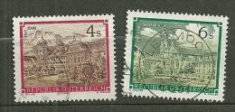 """Autriche Oblitéré ; Y & T N° 1620 &1621 ; """" Abbayes Et Monastères"""". - 1945-.... 2ème République"""
