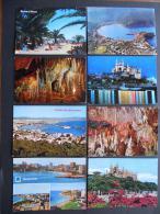SPAIN        8 POSTAIS  - 2 Scans  -    (Nº04407) - Cartes Postales