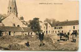 DEP 78 JAMBVILLE  COUR DE FERME - France