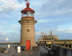 Postcard - Ramsgate West Pier Lighthouse, Kent. SMH32A - Lighthouses