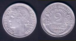 2 F 1958 MORLON  TTB - I. 2 Francs