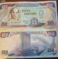 T) 2010 JAMAICA, 50 DOLLARS UNC - Jamaica