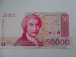 Billete Croacia. 50.000 D. 1993. Sin Circular - Croacia