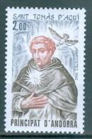 ANDORRA Französisch Mi-Nr. 330 Hl. Thomas Von Aquin Postfrisch - Französisch Andorra