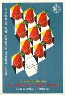 22ma MOSTRA INTERNAZIONALE PER LE CONSERVE ALIMENTARI - PARMA 1967. ILLUSTRAZIONE CREATIVA - Pubblicitari