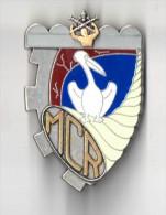 INSIGNE MCR MAGASIN CENTRAL DES RECHANGES, GUERET - Y DELSART G 3492 - Esercito